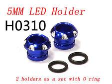 RC CNC Aluminium 5mm LED Light Holder for 1/10 Car Buggy Truck