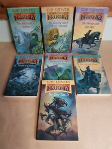 The Chronicles of Narnia 7 Books Set by C.S Lewis