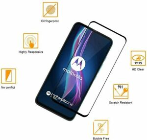 Premium Full Screen Cover Moto G Fast,G Stylus Tempered Glass Screen Protector