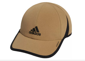 NEW adidas Men's AEROREADY Superlite Performance Cap-Cardboard Brown/Black