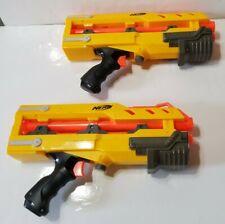 2 Nerf N-Strike Elite Longshot CS-6 Front Barrel Blaster Yellow Gun Toy Hasbro