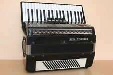 Royal Standard (Weltmeister) Silvana 96 Bass LMM Accordion Fisarmonica Black