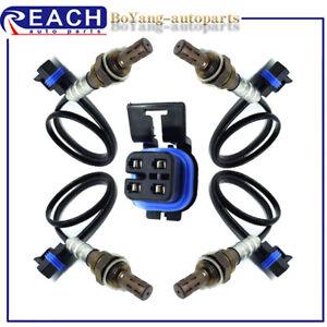 4pcs O2 Oxygen O2 Sensor Up&Downstream For 2012-2015 Chevrolet Traverse V6 3.6L
