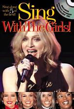 SING MADONNA, BRITNEY, SPICE GIRLS Music Book & CD Guitar Keyboard Shop Soiled