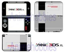 NES Retro Vinyl Skin Stickers Decal Protective Wrap for Nintendo New 3DS XL 2015
