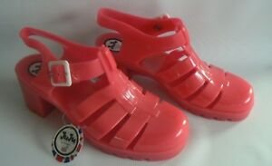 The Original JUJU Babe Jelly Shoes Pink UK Size 7 NEW TAGS