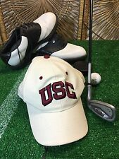 USC TROJANS ZEPHYR NCAA Z FIT FITTED HAT CAP SIZE 7 3/8 hat nwot see disc.  H11