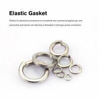 180PCS/set M2-M10 Stainless Steel Shells Pad Spring Lock Washer Elastic Gasket H