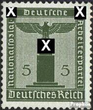 Imperio Alemán d158 nuevo 1942 sello de franqueo oficial