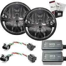 "Eagle Lights E27270 7"" LED Phase 7 Headlights for Jeep CJ TJ JK - PAIR"