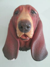 POODLE BOSSONS PLASTER DOG WALL HEAD