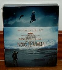 THE HOME OF MISS PEREGRINE FOR CHILDREN PECULIAR-STEELBOOK-3D+2D-NUEVO-DRAMA-R2