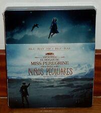 EL HOGAR DE MISS PEREGRINE PARA NIÑOS PECULIARES-STEELBOOK-3D+2D-NUEVO-DRAMA-R2