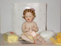 Ashton Drake Porcelain Clean as a Whistle Doll w/ COA