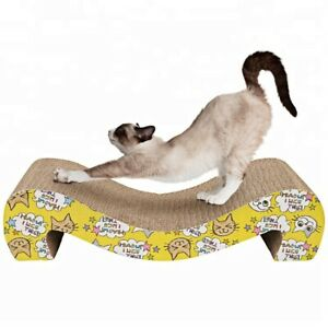 Cosy Life Cat Scratcher Eco-Friendly Scratching, Stretching, Lounging Cardboard