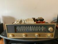 Nice Vintage McIntosh MR-55 Tube AM/FM Mono Tuner w/ Tubes For Restoration