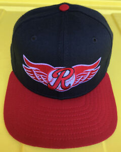 Vintage 90s Rochester Red Wings New Era Pro Model Hat Cap USA Made Minor League