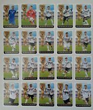 DFB Team Sticker EM 2020 von Ferrero Sammelbilder alle 20 Teamsticker Action