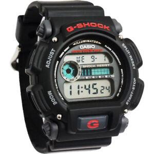 Casio G-Shock Mens Watch DW9052-1V  DW-9052-1VDR Digital Black Red Free Post