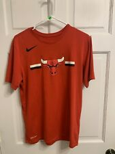NIKE CHICAGO BULLS SHORT SLEEVE DRI FIT SHIRT - SIZE Medium NBA