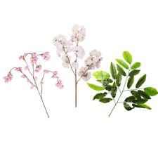 artificial flower plastic tree leaves 10Pcs cherry blossom mango home decor DIY