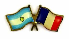 Pin's pin badge ♦ FLAG DRAPEAUX ARGENTINE - FRANCE