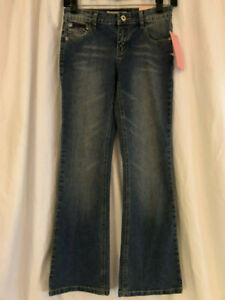 NWT SOUTHPOLE STRETCH BOOT CUT Girls JEANS SIZE10