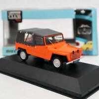 IXO 1:43 Scale Citroen 2CV Baby Brousse 1971 Ivory Cast Diecast Toys Car Models