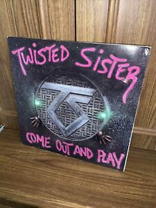 Twisted Sister, Come Out And Play LP Atlantic 81275-1-E 1985 Pop Up EX/VG+ OIS