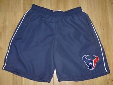 """Houston Texans New Navy/White Sports or Casual Shorts Waist Size 34"""",Embroidered"""