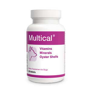 Multical Vitamins Minerals Calcium Specially for Pregnant Nursing DOGS 90 tablet