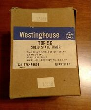 NEW TOF 56 Westinghouse Solid State Timer TOF56 FREE SHIPPING