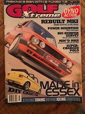 Golf Xtreme Magazine July 1999 Classic VW Mk1 Mk2 Mk3 Mk4 Golf, Corrado, Jetta.