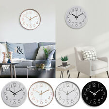 """12"""" Silent & Large Wall Clocks For Living Room Office Home Decor Modern Style"""