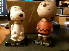 1960's Charlie Brown and Snoopy Bobbleheads Classic