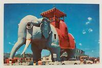Postcard Elephant Hotel Atlantic City New Jersey
