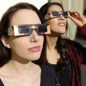 1Pcs Solar Eclipse Glasses paper frame protect your eyes From L5S0 Eclipse Y1P5