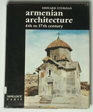 BOOK Armenian Architecture medieval church Gothic ancient city stone sculpture