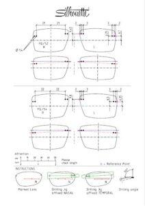 Silhouette TMA-The-Icon Shape-FQ Clip-On Sunglasses Polarized Lenses 5076