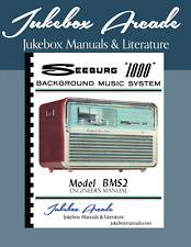 Seeburg 1000 BMS2 Rare Engineers Manual, Jukebox Arcade Exclusive