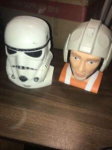 1995 Galoob Star Wars Micro Machines Stormtrooper/Death Star Playset Luke Hoth