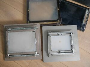 "10x8"" half plate, full plate film backs darkslide Large Format Kodak Specialist"