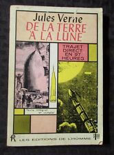 1963 From the Earth to the Moon SC Jules Verne French Canada VG