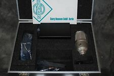 Neumann M147 Tube Microphone Mic NEW NIB Case Power Supply Cable