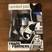Transformers Universe Autobot Jazz Mighty Muggs Hasbro Action Figure 2008 New