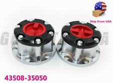 PAIR SET MANUAL WHEEL LOCKING HUB FOR 86-95 TOYOTA T100 PICK UP TRUCK 4RUNNER