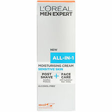 L'Oreal Men Expert All-In-One Sensitive Moisturiser 75ml