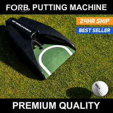 FORB Putt Returner With Auto Return - Perfect Your Putting | Putting Machine Mat