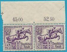 Empire Allemand de 1936 Neuf MiNr.616 - Olympiques Jeux D' Été