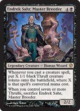 ENDREK SAHR, MASTER BREEDER NM mtg Commander 2013 Black - Human Wizard Rare